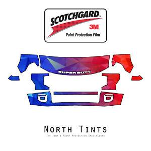 Ford F250 F350 2020 PreCut 3M Scotchgard Paint Protection Film Clear Bra PPF Kit