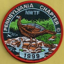 Pa Pennsylvania Game Commission PA Chapter NWTF 1999 ARTIST SIGNED 2nd Patch