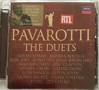 LUCIANO PAVAROTTI : THE DUETS / BRYAN ADAMS / ANDREA BOCELLI - [ CD ALBUM ]
