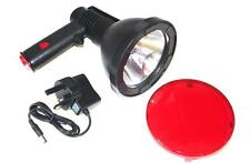 LED CREE LAMP 1000lum 400m LI-ION BATTERY RECHARGEABLE LIGHT RED FILTER 370gms