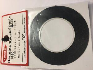 KYOSHO MICRON TAPE - (BLACK) 0.7mm WIDE X 8m LONG - 1860