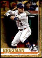 Alex Bregman 2019 Topps Update 5x7 Gold #US143 /10 Astros
