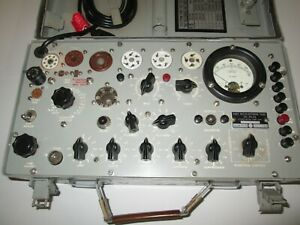 Vintage TV-7, A, B & D Tube Tester Calibration Service