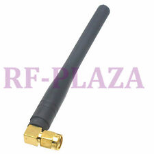 Antenna 433Mhz Gprs Gsm Sma male plug right angle for radio 10Cm