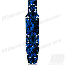 ProLine Pro 2 - Thick Chassis Protector Graphics - Dark Flames Blue