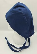 Navy Blue Solid Mens & Womens Medical Surgical SCRUB CAP