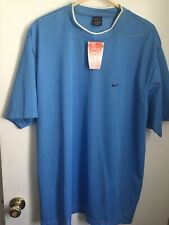 Nike Perforated Jersey Vintage New W/ Tags Size Xl Carolina Blue