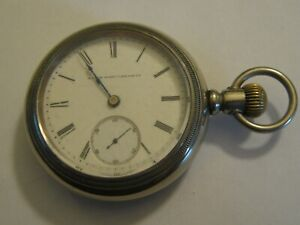 Elgin 18s 17j pocket watch Grade:	249	 Model: 4 (WORKING)