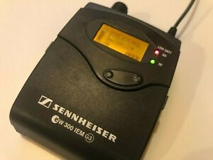 Sennheiser ew 300 / EK 300 IEM G3 - G Band 566-608MHz EK300 for use with SR300