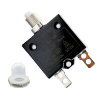 Car Manual Reset 125-250V AC 3A 50A Push Button Switch Thermal Circuit Breaker