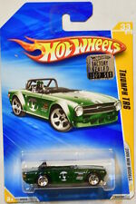 HOT WHEELS 2009 NEW MODELS TRIUMPH TR6 #33/42 GREEN FACTORY SEALED