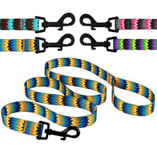 Nylon Dog Leash Outdoor Training Leashes for Dogs Puppy Lead Tribal Design S M L