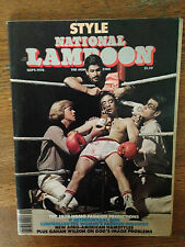 NATIONAL LAMPOON HUMOR MAGAZINE SEPT 1978 STYLE HOMO FASHION AFRO HAIRSTYLES