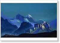 """Star of the Morning. By Nicholas Roerich. Fine art print NEW 20 x 28 """""""
