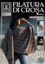 Filatura Di Crosa Knitting Magazine w/ 36 Patterns 1997 Autumn Winter Collection