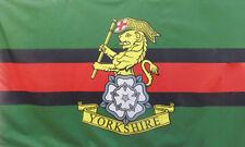 YORKSHIRE REGIMENT FLAG 5' x 3' British Army York Catterick Garrison Armed Force