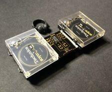 New Technics Miniature Collection- 2: SL-1200GLD  & 1 Turntable Audio Mixer GOLD