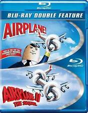 Airplane / Airplane II: The Sequel (Blu-ray Disc, 2014, 2-Disc Set) - NEW!!