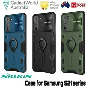 For Samsung Galaxy S21 Ultra Plus Nillkin Camshield Armor Shockproof Tough Case