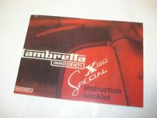 Lambretta SX150 Owners Manual Instruction Booklet (1FB103)