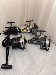 Lot Of 4 Vintage Fishing Reels See Full Description Below