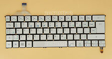 For ACER Aspire S7-391 S7-392 Keyboard Canadian French Clavier Backlit Silver