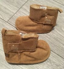 NEXT Baby Boots Size 1 (3 - 6 months) LITTLE STAR Tan Colour Soft Shoes