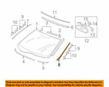 73162SJAA01ZA Acura OEM 05-12 RL Windshield Molding Driver Side Gloss Black