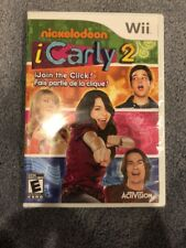 Nintendo Wii : iCarly 2: iJoin the Click! - Wii VideoGames