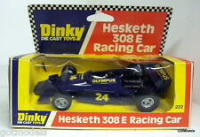 Dinky 1/36 Appx 222 Hesketh 308E Racing car #24 Vintage Diecast Model Car
