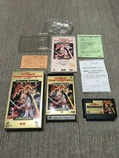 Gamesoft FamiCom『AD&D POOL of RADIANCE』Box and with an instructions from Japan ☆