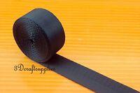 5 yards 1 inch heavy weight nylon webbing for key fob strap blue ZC59