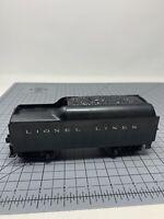 Vintage Lionel Lines Toy Train Coal Car Tender O Gauge L22