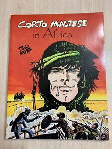 CORTO MALTESE IN AFRICA HUGO PRATT  NM/MT 1987 IST PRINT - INCREDIBLE CONDITION