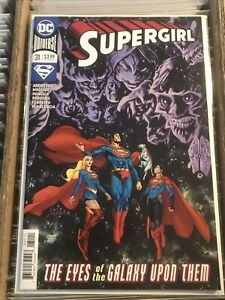 SUPERGIRL #31 YANICK PAQUETTE REGULAR MAIN COVER KRYPTO SUPERBOY SUPERMAN 2019
