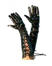 Disfraces y ropa de época color principal negro de vinilo