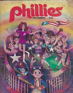 Philadelphia Phillies 1972 Yearbook