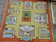 1963 Parker Brothers Clue Board Game Board