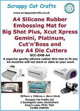A4 Silicone Gaufrage Mat pour Big Blue, Crossover et toute A4 Die Cutter: SEA4S.8