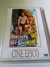 """DVD """"MACISTE EN LAS MINAS DEL REY SALOMON"""" PIERO REGNOLI REG PARK WANDISA GUIDA"""