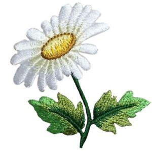 """Hydrangea Applique Patch Bloom Flower Gardening Badge 1.75/"""" Iron on"""