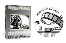 Centro de medios de los jugadores codecs convertidores decodificadores, jugar cualquier Video Audio, Pc Cd