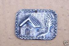 Tin/Silver House Milagro Ex Voto