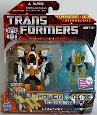 LEADFOOT with PINPOINT Transformers Power Core Combiners Figures 2-pack 2010