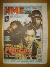 NME 1996 NOVEMBER 16 FUGEES DODGY SHED 7 EAST 17 JOHNNY CASH