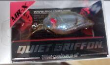 Megabass QUIET GRIFFON MR- X CRANKBAIT Lure - No. 4 Redeye Glass Shrimp