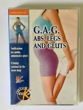 Corso di GAG in DVD per addominali, gambe e glutei