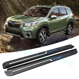 2pcs fits for Subaru forester 2019 2020 nerf bar Running board side step