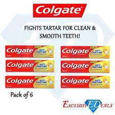 Colgate Toothpaste Anti-Tartar Whitening Smooth Teeth Fights Tartar 100ml x 6