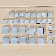 30Pcs Aluminium Heatsink Cooler Adhesive Klebe-Kit für Kühl Raspberry Pi Neue